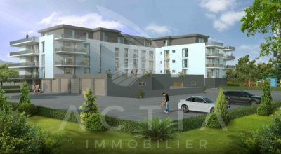 Appartement de 3.5 pces au 2ème étage dans une nouvelle promotion proche du centre-ville