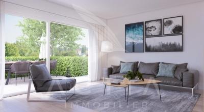 Villa contiguë d'angle en construction - BAISSE DE PRIX