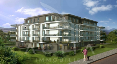Appartement de 2.5 pces au 3ème étage dans une nouvelle promotion proche du centre-ville
